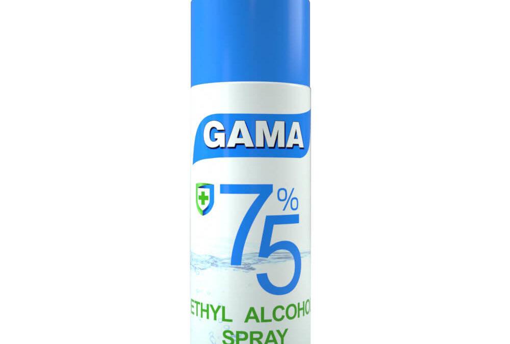 Ethyl Alcohol Aerosol Spray 450ml – Disinfection