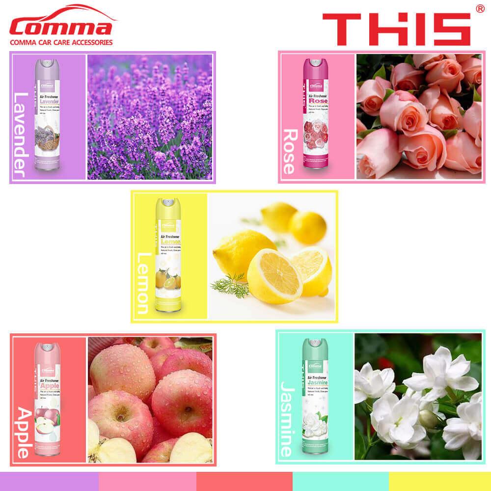 Air Freshener - 5 fragrances